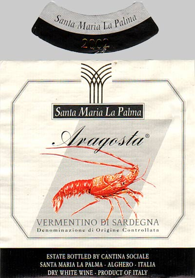 cantina-santa-maria-la-palma-aragosta-vermentino-di-sardegna-sardinia-italy