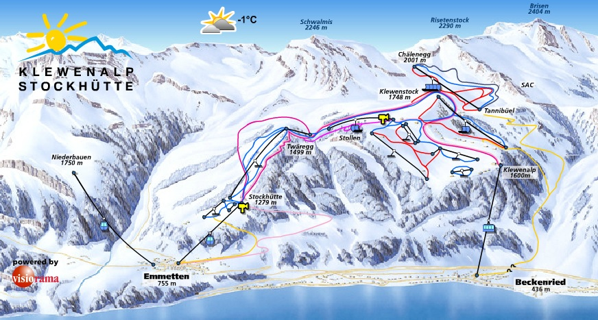 location ski klewenalp