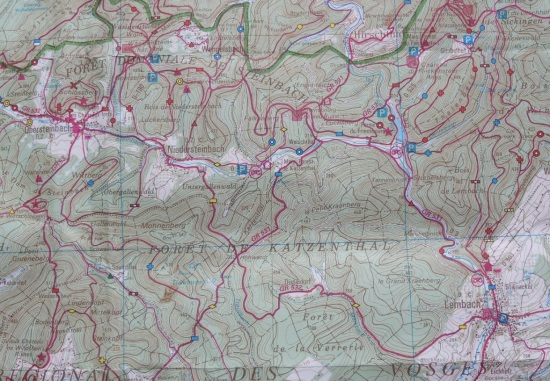 Vosges Day2 Map