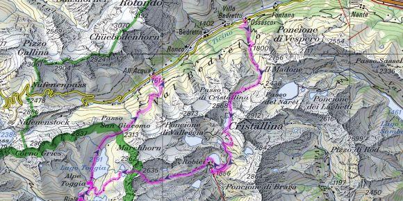 4 days solo hike Swiss Alps